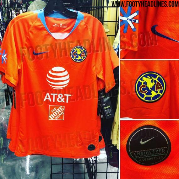 reputable site 9ea78 d815b Liga MX: Filtran posible tercer uniforme del América | MARCA ...