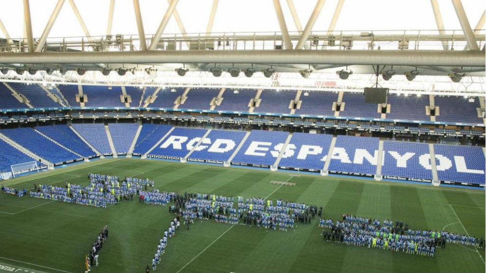 El RCDE Stadium.