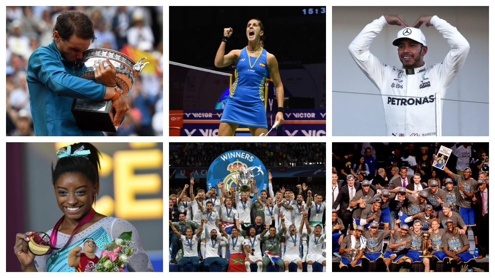 Nadal, Carolina Marin, Hamilton, Simone Biles, Real Madrid and the...