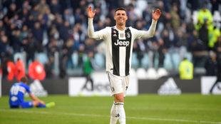 Cristiano Ronaldo habla de sus récords.
