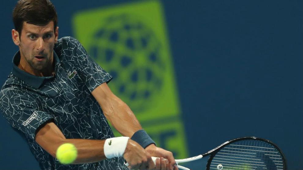 Bautista gana a Djokovic y se planta en la final de Doha