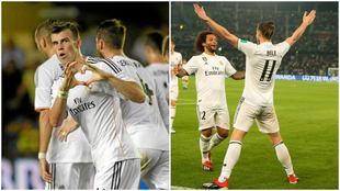 El primer gol de Bale (ante el Villarreal) y el número 99 (ante el...