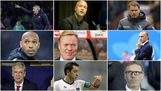 FC Barcelona: Preparados para el baile: los técnicos que podrían ...