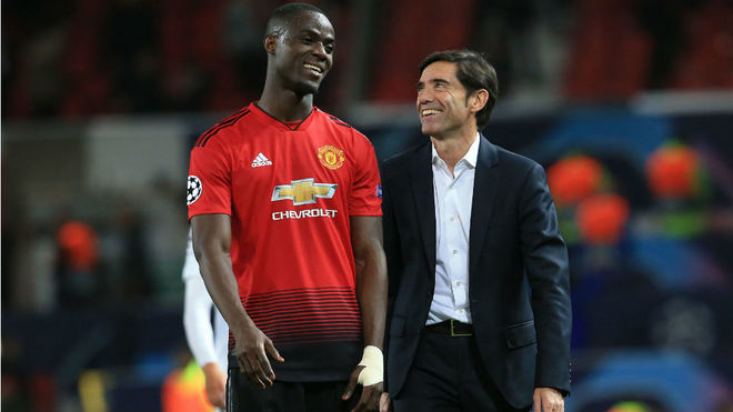 Eric Bailly and Marcelino
