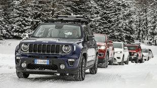El macizo de Monte Rosa, escenario de la Jeep Winter Experience 2019.
