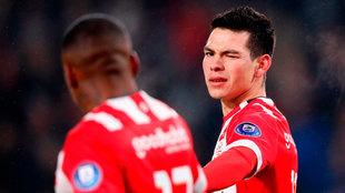 Chucky acumula 34 goles en 61 partidos con el PSV