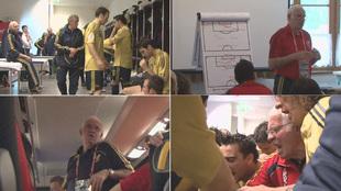 Cuatro imágenes de documental 'Luis, el sabio de éxito'.