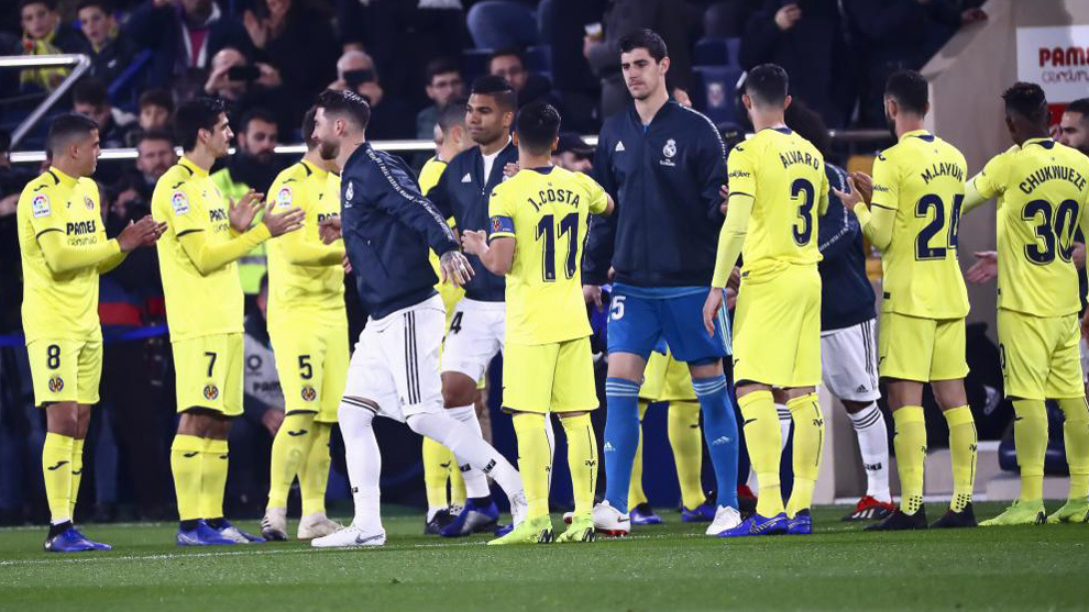 LaLiga Santander Home Fans Whistle As Villarreal Form A Guard Of Honour For Real Madrid MARCA In English