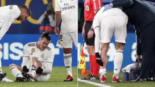 Bale se duele del gemelo izquierdo tras lesionarse en Villarreal