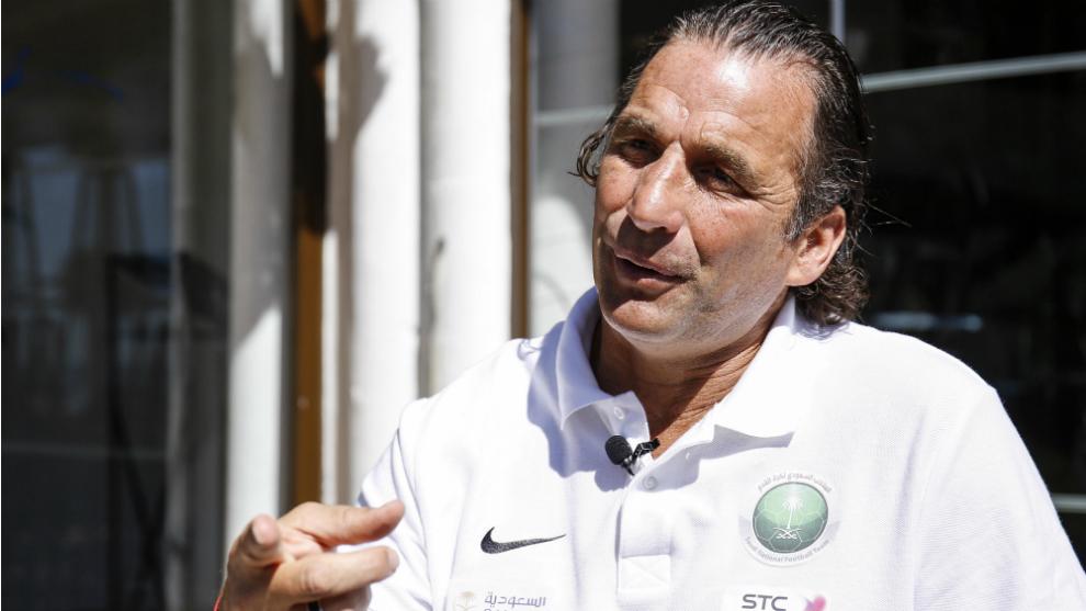 Pizzi, en una reciente entrevista con MARCA