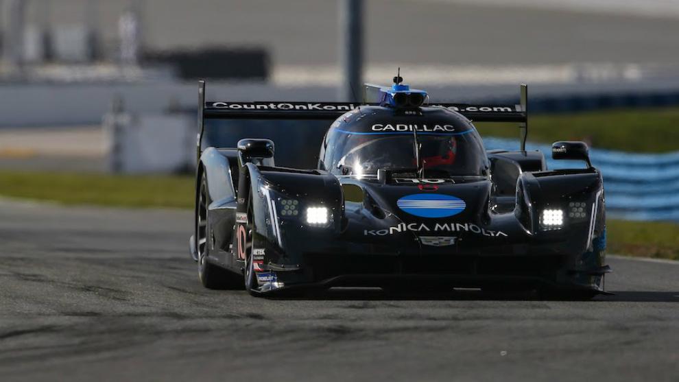 El Cadillac nº 10 con el que corre Alonso.