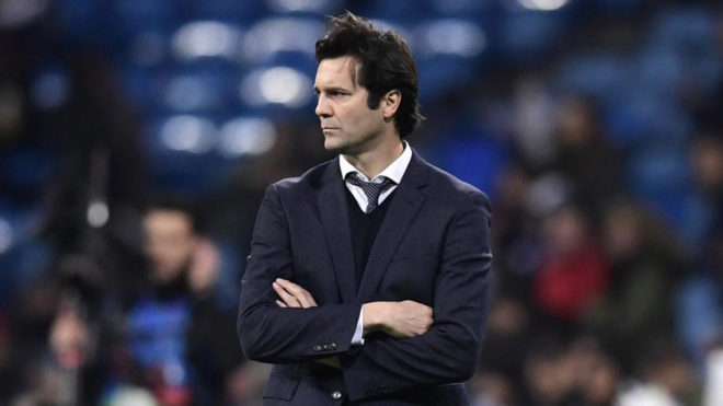 I'm happy with Real Madrid's progress, says Solari