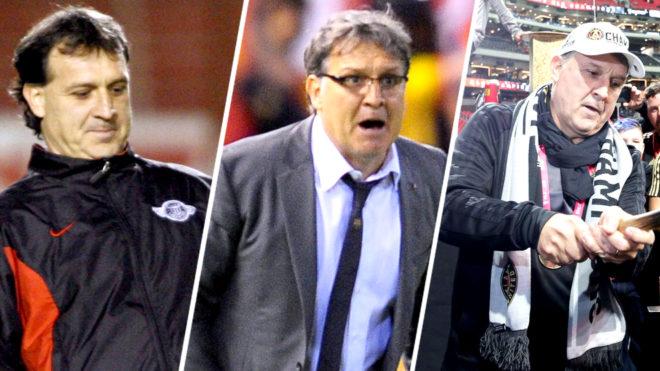 Las diferentes etapas de Martino como entrenador.