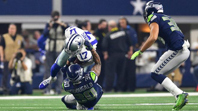 La escalofriante lesión de Allen Hurns de los Cowboys