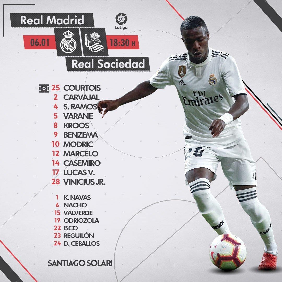 Real Madrid Vs Real Sociedad Resumen Resultado Y Goles Liga Santander 2018 19 Marca Com