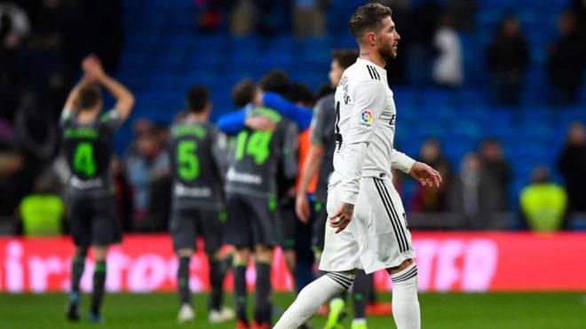 Sergio Ramos, tras la derrota ante la Real Sociedad