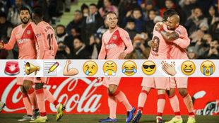 El Barcelona ganó en casa del Getafe