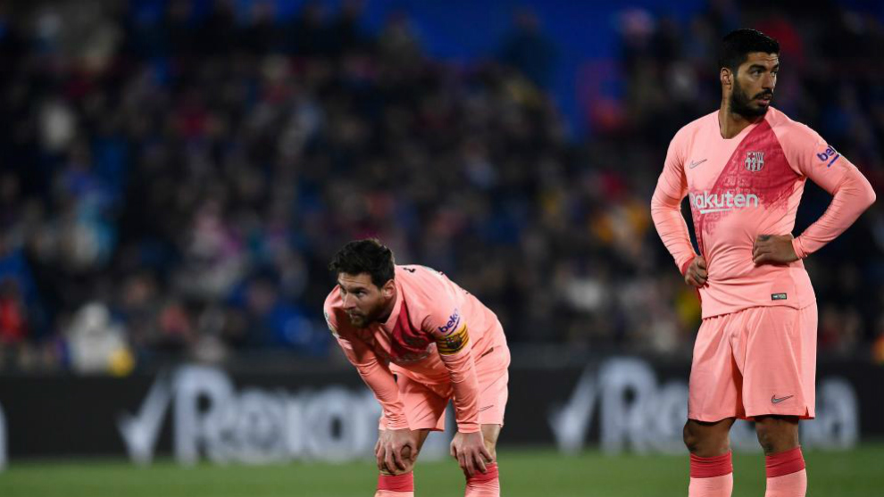 Fc Barcelona Messi Y Suarez Llevan Mas Goles Que Todo El Real Madrid Marca Com