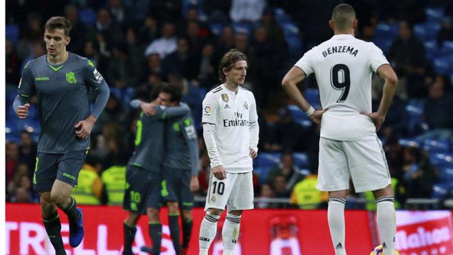 Real Madrid Vs Real Sociedad
