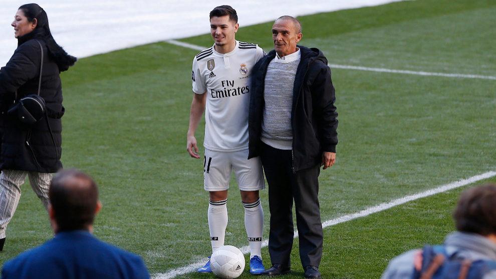Brahim y su abuelo Ángel