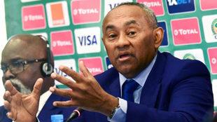 Ahmad Ahmad, presidente de la CAF, anuncia la designación de Egipto...