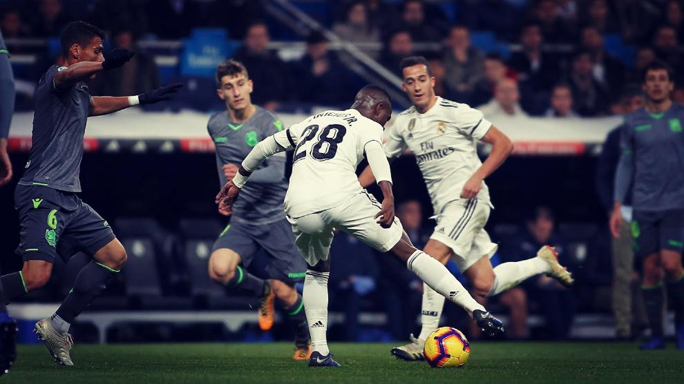 Vinícius fue el mejor jugador del Real Madrid - Real Sociedad y...