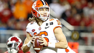 Trevor Lawrence ante Alabama.