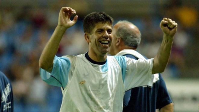Fabiano, con el Compostela en la 2002-03.