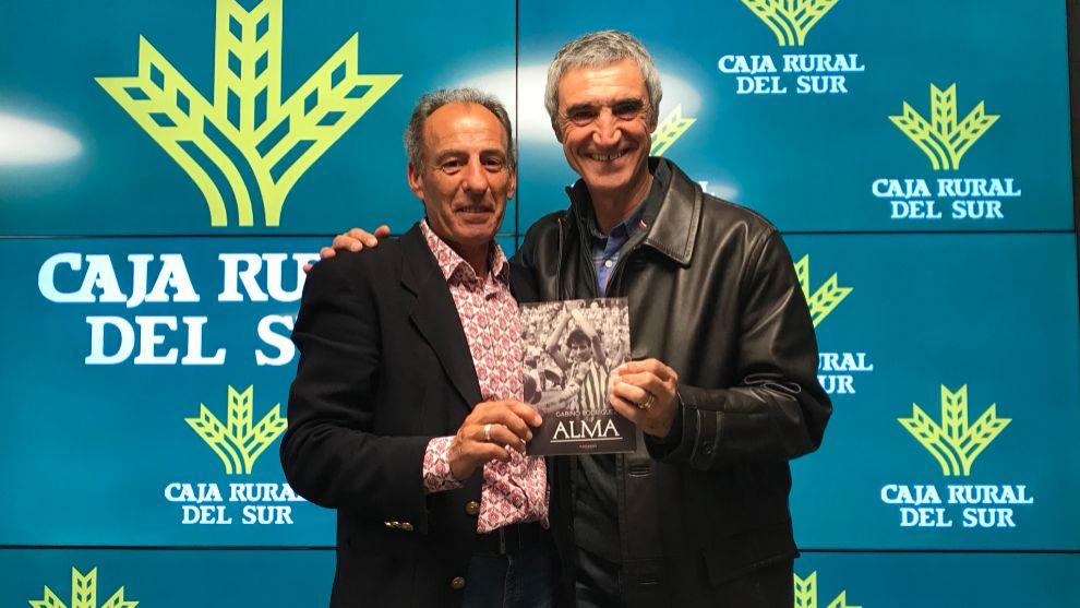 Gabino, con Antonio Álvarez
