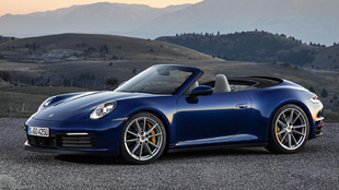 Las entregas del Porsche 911 Cabriolet comenzarán en el mes de marzo.