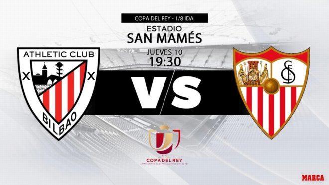 Athletic vs Sevilla - San Mamés - 10/01/2019 - 19:30 horas - Copa del...