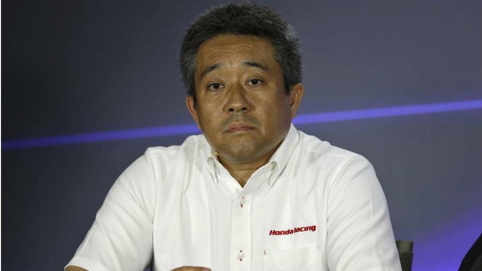 Masashi Yamamoto, en un gran premio de F1.