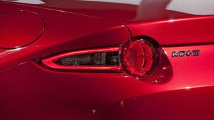 Un detalle de la cuarta generación del Mazda MX-5 presentado en 2014.