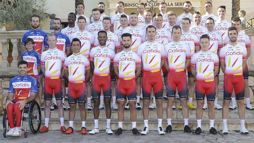 El nuevo maillot del equipo Cofidis no faltará en el 106º Tour de...