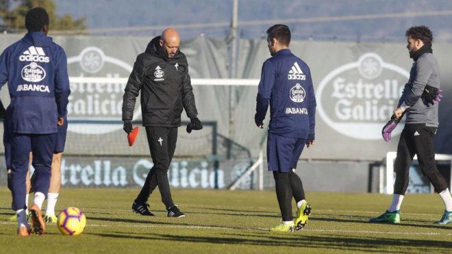 Néstor Araujo anota su primer gol en el futbol español