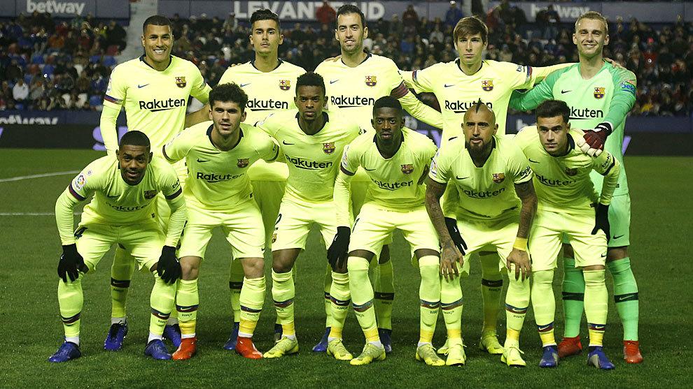 Barcelona's side.