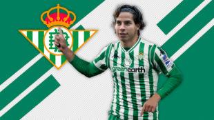 Diego Lainez, nuevo jugador del Betis