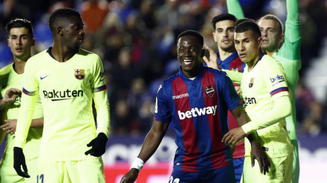 Boateng, Murillo and Dembele.