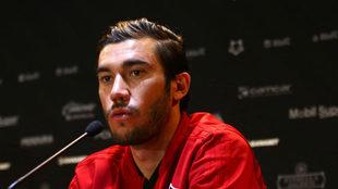 Juan Pablo Vigón habla en conferencia de prensa