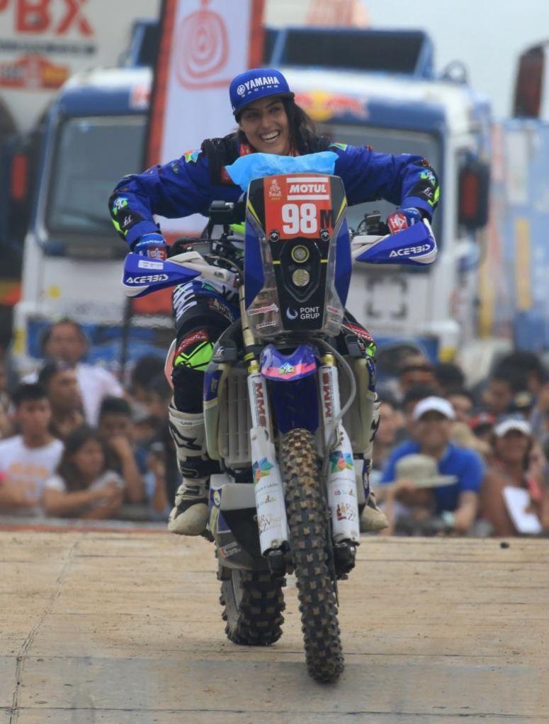 Sara García Dakar 2019