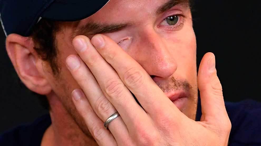 Andy Murray rompió a llorar en rueda de prensa en el Open de...