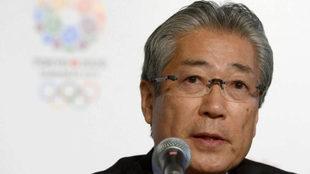 Tsunekazu Takeda, presidente del Comité Olímpico japonés.