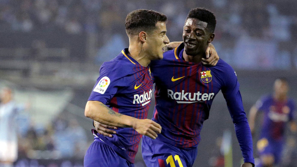 Image result for coutinho dembele
