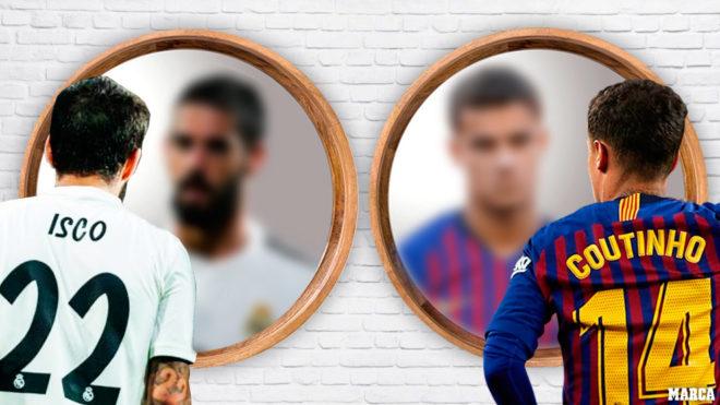 Similitudes y diferencias entre los casos de Isco en el Madrid y Coutinho en el Barça
