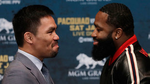 Pacquiao y Broner se medirán en Las Vegas