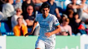 El 'Guti' jugó 45 minutos en el último amistoso del PSV en...