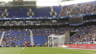 Panorámica del RCDE Stadium esta temporada.