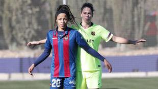 Jèssica Silva y Marta Torrejón pujan por la posición en Buñol.