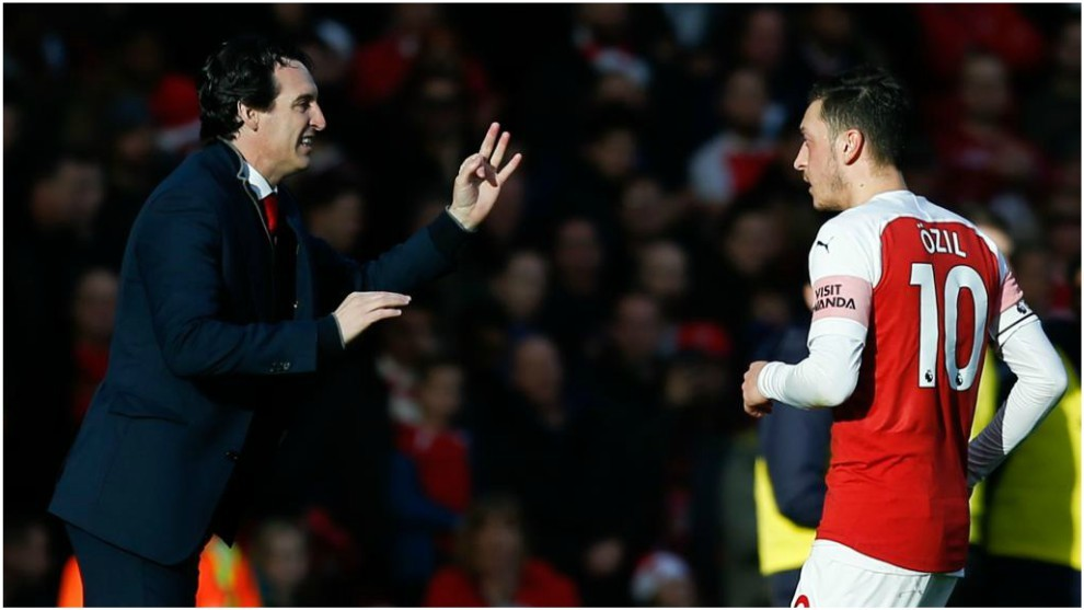 Emery left the German out of Saturday's loss