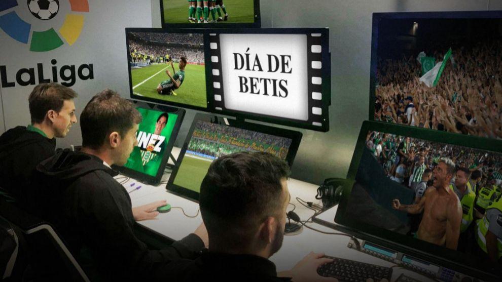 El Betis tira de humor con el VAR para anunciar su partido frente al Real Madrid